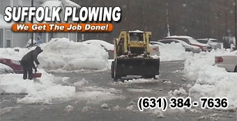 bobcat snow plowing riverhead ny