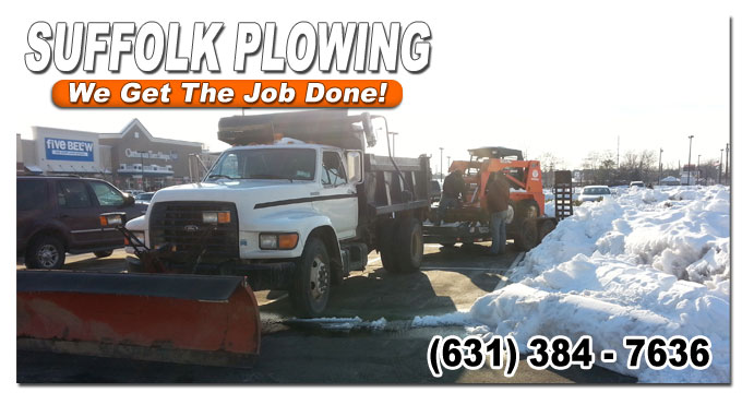 smithtown snow plowing contractors